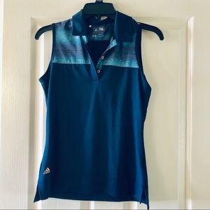 Adidas sleeveless golf shirt